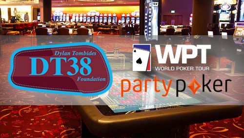 Partypoker, World Poker Tour and DT38 to Host Charity Event in Aid of Testicular Cancer Awareness