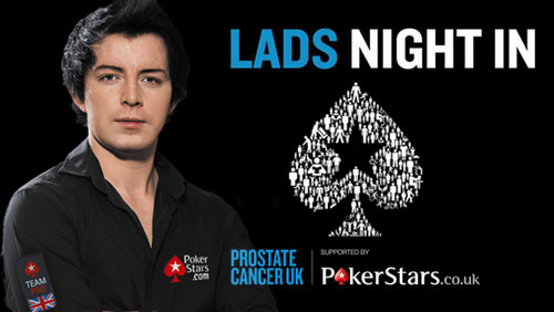 "PokerStars Launch ""Lads Night In"" Campaign to Raise Money for Prostate Cancer UK"