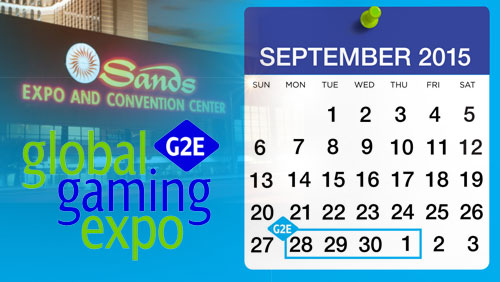 Save the date for G2E Las Vegas in September