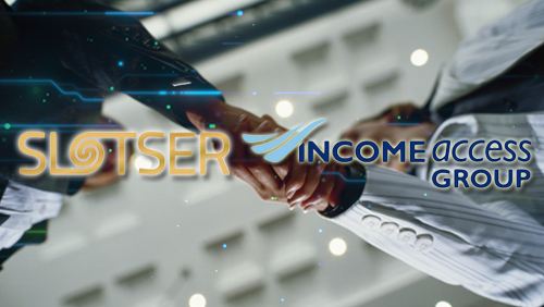 Slotser Partners with Income Access