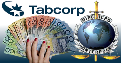 tabcorp-money-laundering-lawsuit-interpol