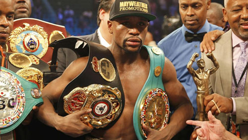 WBO strips Floyd Mayweather's Fight of the Century Title