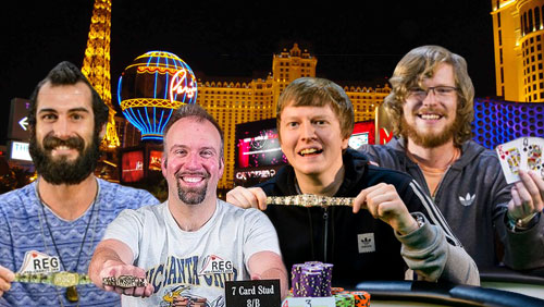 WSOP Day #39 Review: A Shock in the $10k H.O.R.S.E; 2 Bracelets for the Brits, and Palumbo Leads the Lucky Sevens