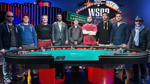 2015 World Series of Poker results