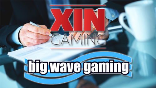 XIN Gaming signs an exclusive re-seller agreement with Big Wave Gaming