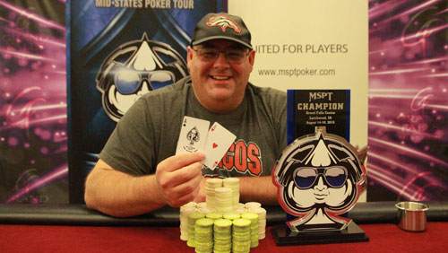 Alan Curl Wins the MSPT Main Event in Grand Falls