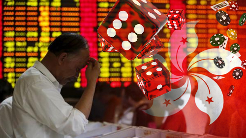 Gambling stocks take a plunge in Hong Kong