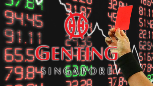 Genting Singapore shares dip amid profit warning
