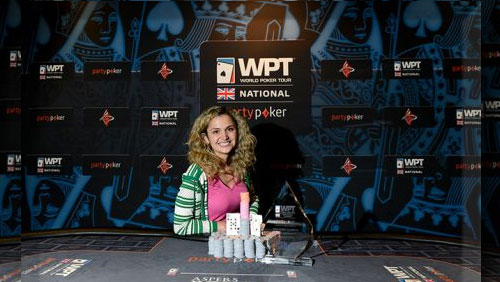 Irina Nikolaidi Wins the partypoker WPT National London Main Event