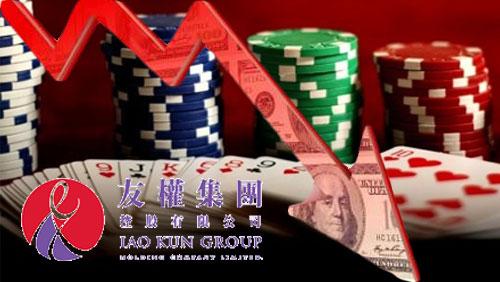 Junket Iao Kun posts lower net loss, lower revenue