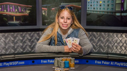 Loni Harwood Wins the 2015 WSOP National Championship