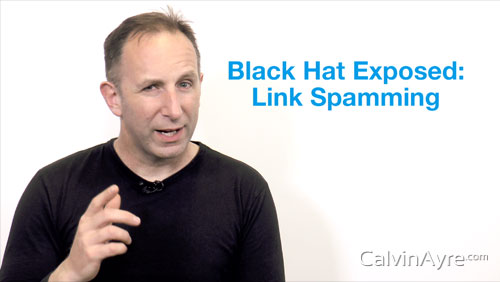SEO Tip of the Week: Black Hat Exposed-Link Spamming