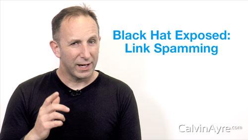 SEO Tip of the Week: Black Hat Exposed-Link Spamming