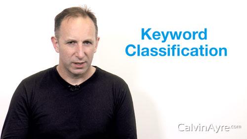 SEO Tip of the Week: Keyword Classification