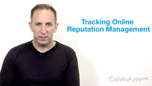 SEO Tip of the Week: Tracking Online Reputation Management