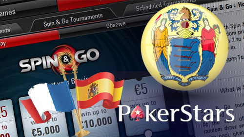 PokerStars Launch Micro Spin & Go Formats in France & Spain; New Jersey Debut in 'Short Order'