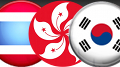 South Korea, Thailand, Hong Kong have busy weekend for online gambling busts