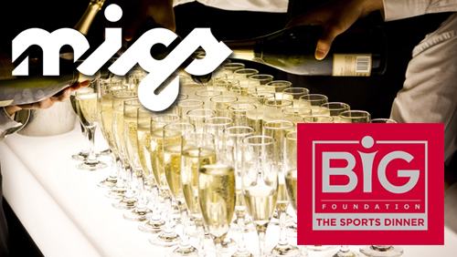 The BiG Foundation announces Microgaming's BiG Sports Dinner at Malta's MiGS Event