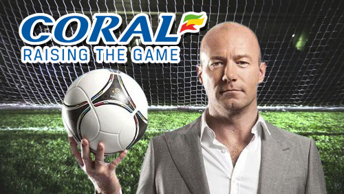 Alan Shearer Joins Coral as Football Ambassador