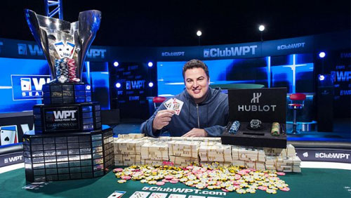 David Paredes Wins the World Poker Tour Borgata Poker Open