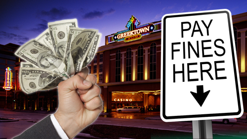 Greektown casino hit with $500,000 fines for past violations