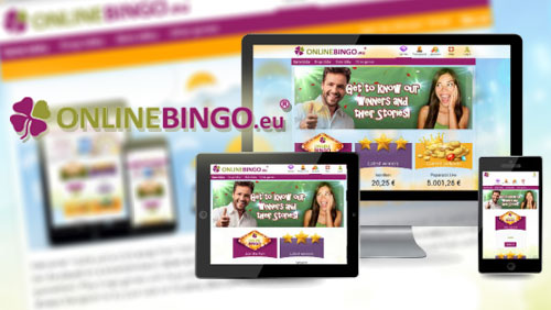 Impressive new OnlineBingo.eu gaming site