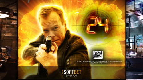 iSoftBet launches its latest branded slot based on the iconic TV series: 24