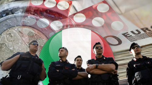 Italy's Operation Gambling yields €25M in asset freeze