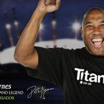 John Barnes announced as Titanbet's Brand Ambassador