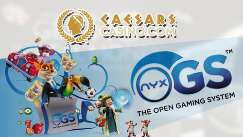 NYX Gaming Group Rolls Out NYX OGS System on Caesars Interactive Entertainment Platform