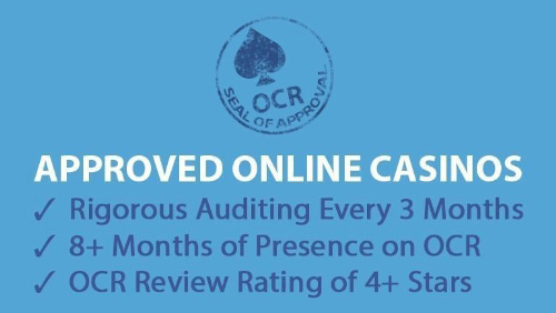 OCR Makes the Best Gambling Sites Stand Out With Seal of Approval