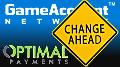GameAccount Network, Optimal Payments, Gauselmann Spain rebranding plans