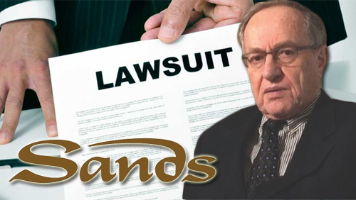 Sands recruits Alan Dershowitz for termination lawsuit