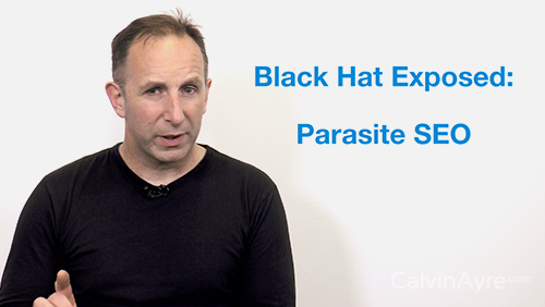 SEO Tip of the Week: Black hat exposed – Parasite SEO