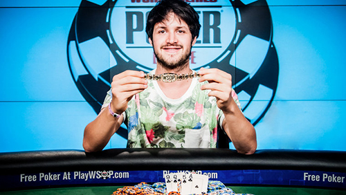 Alex Komaromi Wins the WSOPE Mixed Game Bracelet