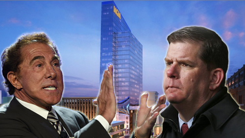 Casinos snafu: Steve Wynn engages Boston mayor in word war, Springfield councilors at odds with new MGM design