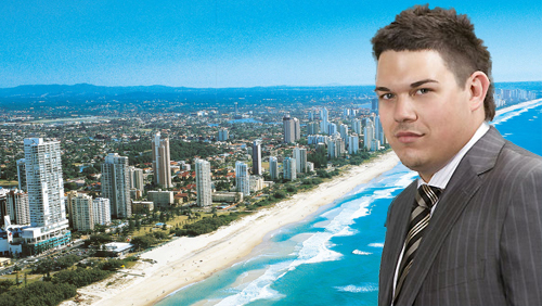 Daniel Tzvetkoff 'Living Like a King' on The Gold Coast