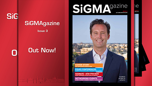Get your free SiGMA 2015 Magazine