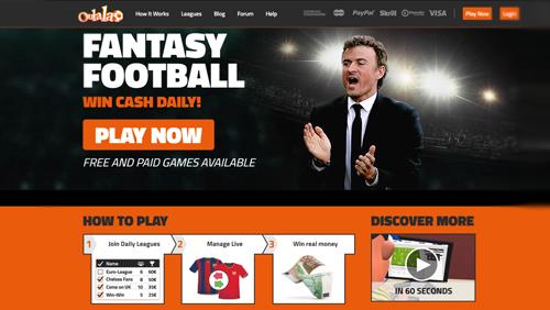 Fantasy football start up Oulala targets UK sports gaming market with new monetized platform