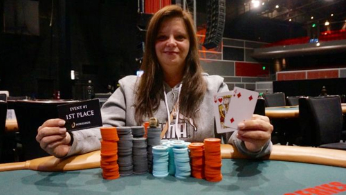 World Series of Poker Circuit: Amanda Heidbrick Wins Gold Ring