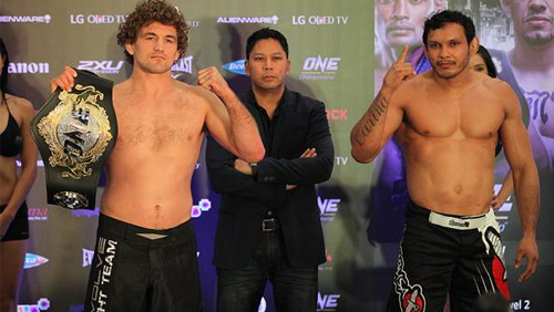 ONE: Pride of Lions Official Weigh-in Results