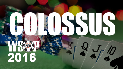 2016 World Series of Poker: Colossus II $1m First Prize