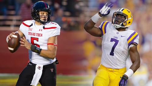 Advocare V100 Texas Bowl Preview - TEXAS TECH RED RAIDERS vs LSU TIGERS