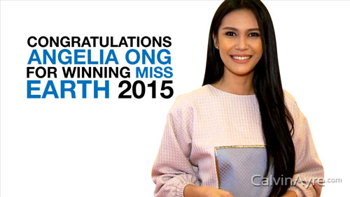 Angelia Ong makes history as Miss Earth 2015