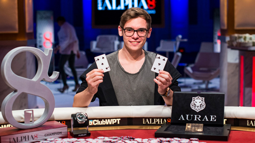 WPT Alpha8 Las Vegas: Fedor Holz Wins $1.5m First Prize