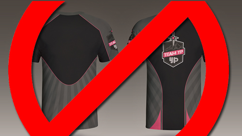 YouPorn eSports Team Member Banned From Wearing Team Colours