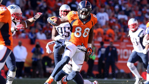 AFC Conference Championship Game: New England Patriots vs. Denver Broncos