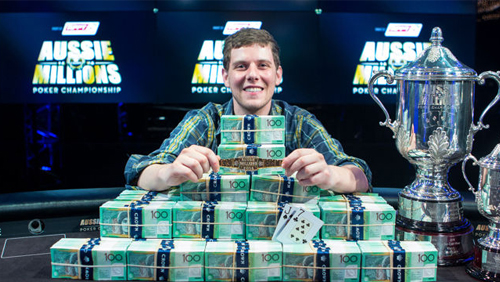 Aussie Millions Round Up: Ari Engel Wins Main Event