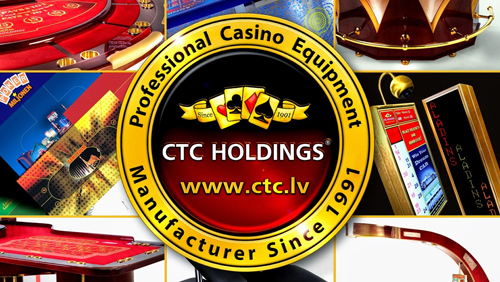 Bright solutions for land-based casinos from CTC HOLDINGS