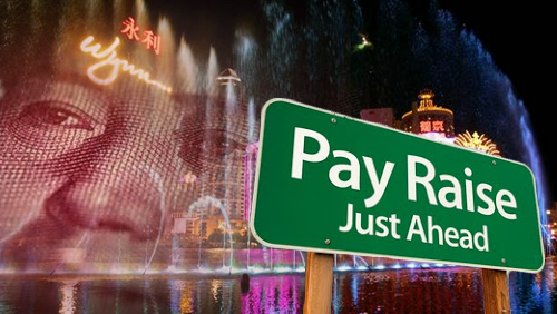 Casino workers call for pay hike amid Macau's bleak gaming performance